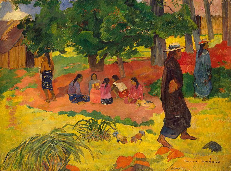 Gauguin, Paul - Early evening. Hermitage ~ part 04