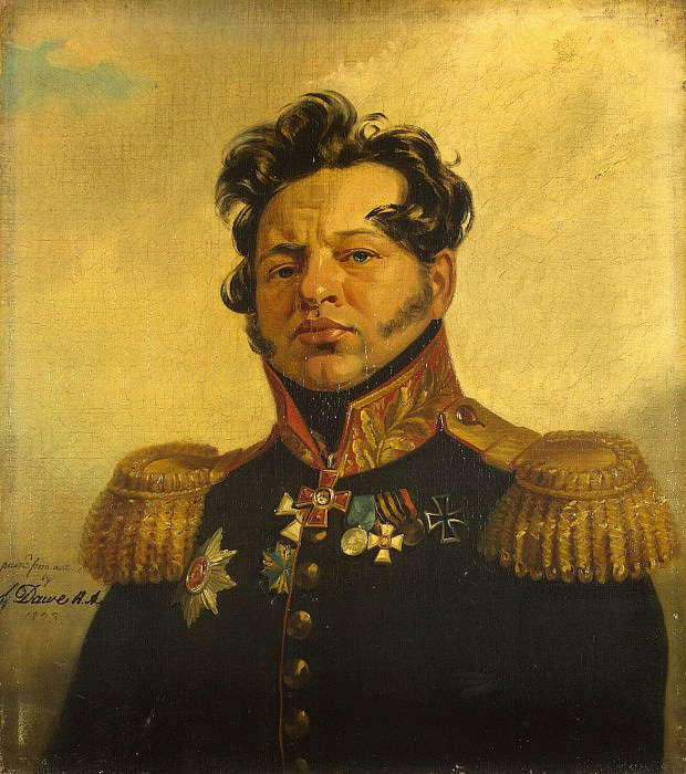 Dawe George - Portrait of Fyodor Nikolayevich Posnikov. Hermitage ~ part 04