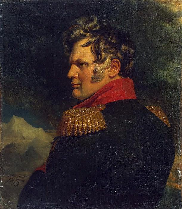 Dawe George - Portrait of Alexei Petrovich Ermolov. Hermitage ~ part 04