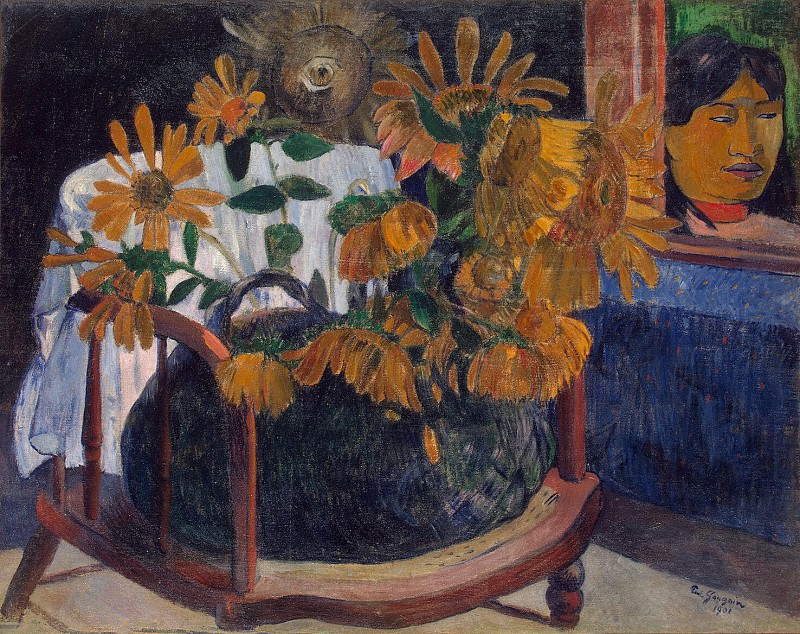 Gauguin Paul - Sunflowers. Hermitage ~ part 04