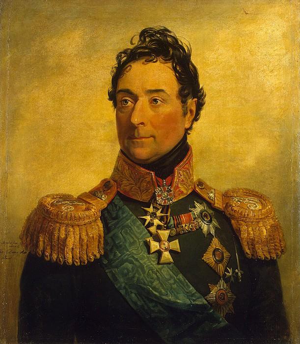 Dawe George - Portrait of Alexander Fedorovich Langeron. Hermitage ~ part 04
