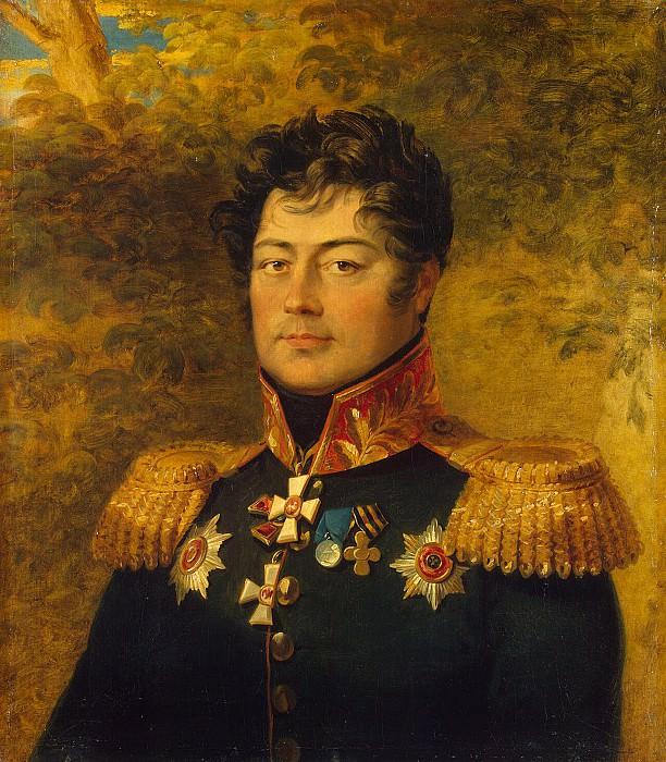 Dawe George - Portrait of Semyon Davydovich Panchulidzeva. Hermitage ~ part 04