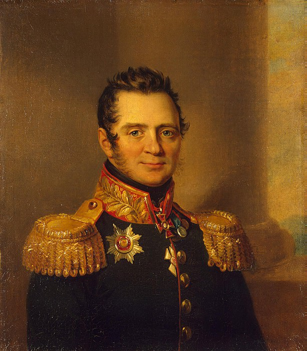 Dawe George - Portrait of Alexander P. Urusova. Hermitage ~ part 04