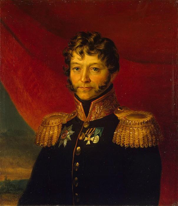 Dawe George - Portrait of Nikolai Fedorovich Titov. Hermitage ~ part 04