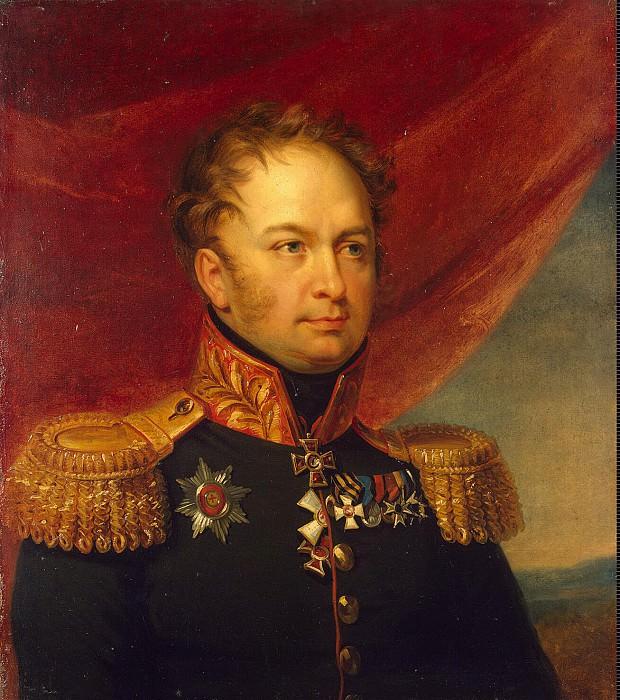 Dawe George - Portrait of Mikhail Fedorovich Vlodeka. Hermitage ~ part 04