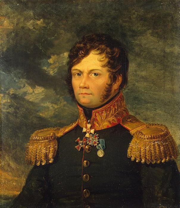 Dawe George - Portrait of Fyodor Alekseevich Lukow. Hermitage ~ part 04