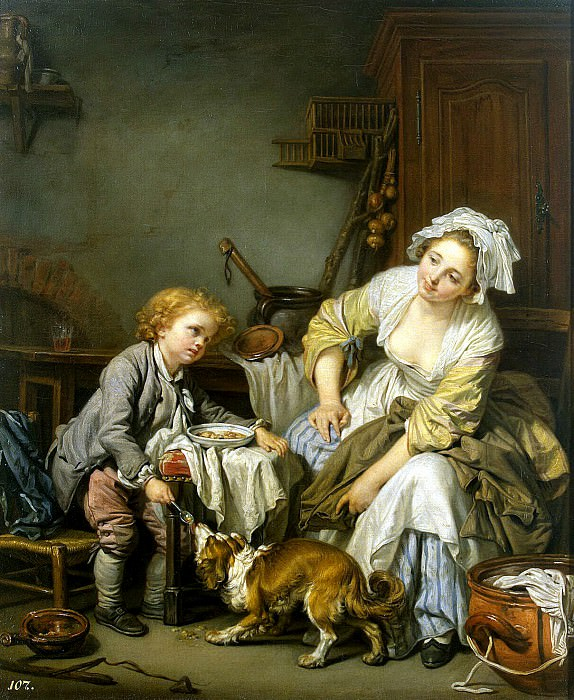 Greuze, Jean-Baptiste - a spoiled child. Hermitage ~ part 04