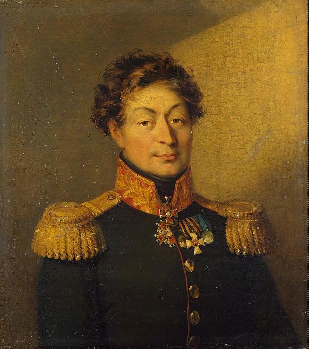 Dawe George - Portrait of Mikhail Mikhailovich Volkov. Hermitage ~ part 04