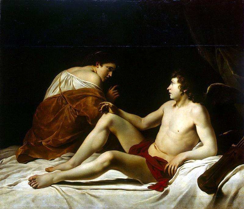 Gentileschi, Orazio - Cupid and Psyche. Hermitage ~ part 04