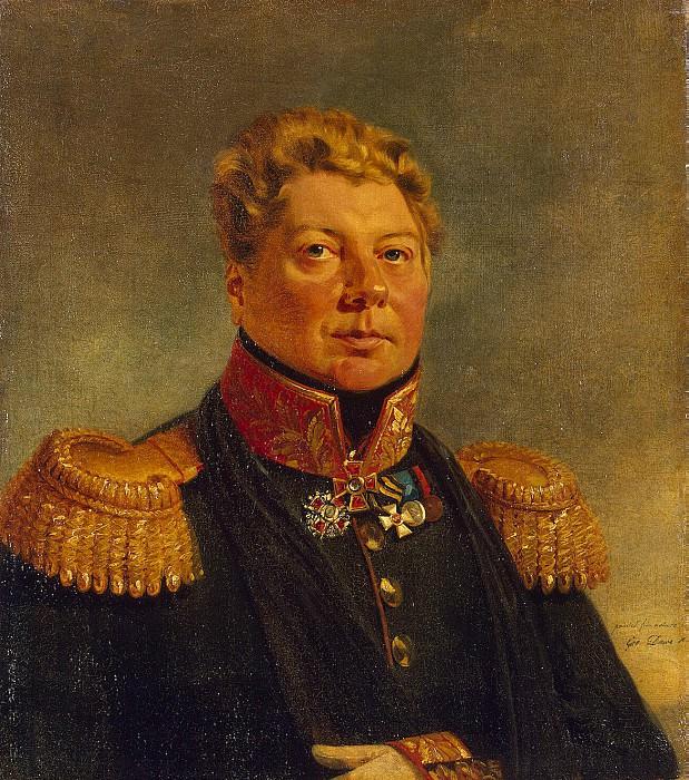 Dawe George - Portrait of Fyodor Yevstafyevich Knipper. Hermitage ~ part 04