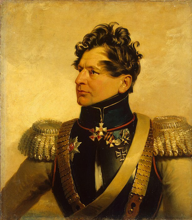 Dawe George - Portrait of Ivan Sergeyevich Leontief. Hermitage ~ part 04