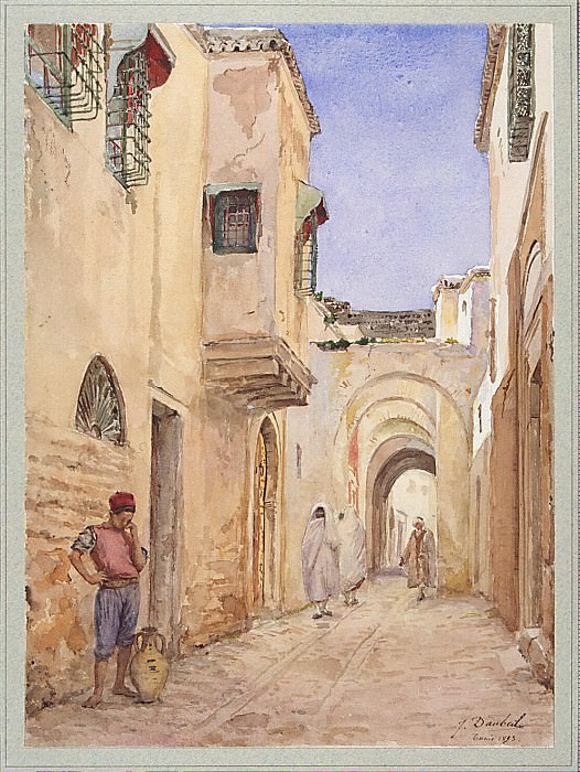 Kill, Jules - Street in Tunis. Hermitage ~ part 04