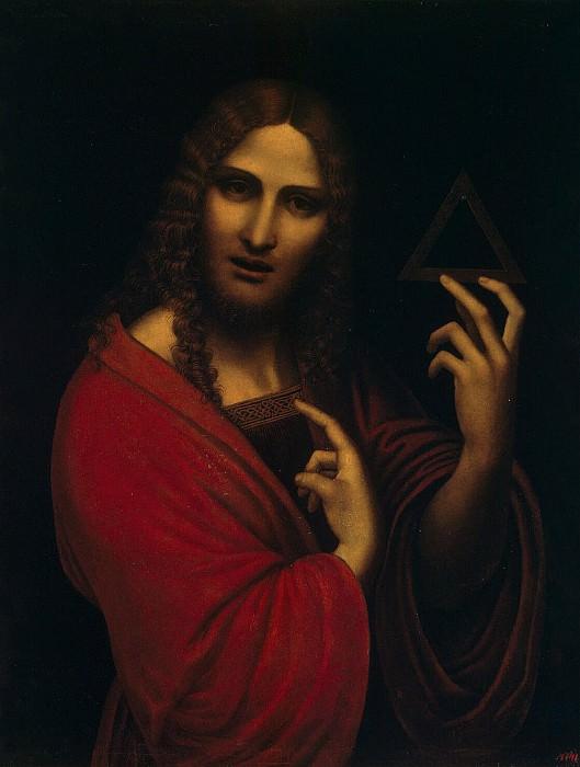 Джампетрино - Христос с символом Троицы. Эрмитаж ~ часть 4