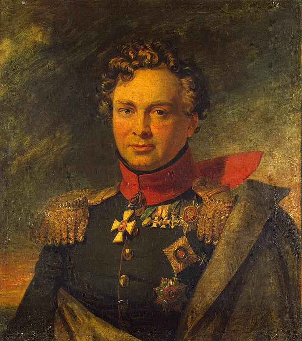 Dawe George - Portrait of Andrei Ivanovich Gorchakov. Hermitage ~ part 04