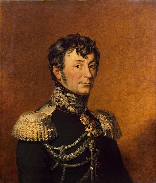Dawe George - Portrait of Karl Klodt von F. Yurgensburga. Hermitage ~ part 04
