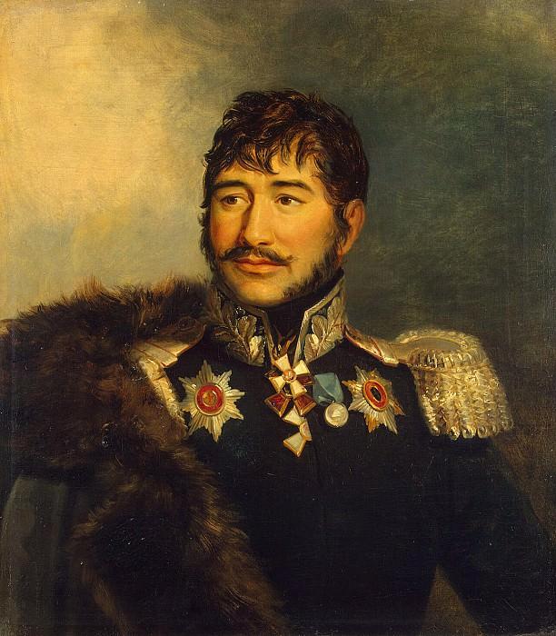 Dawe George - Portrait of Gabriel Amvrosievich Lukovkin. Hermitage ~ part 04