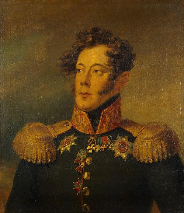 Dawe George - Portrait of Alexander Ivanovich Albrecht. Hermitage ~ part 04