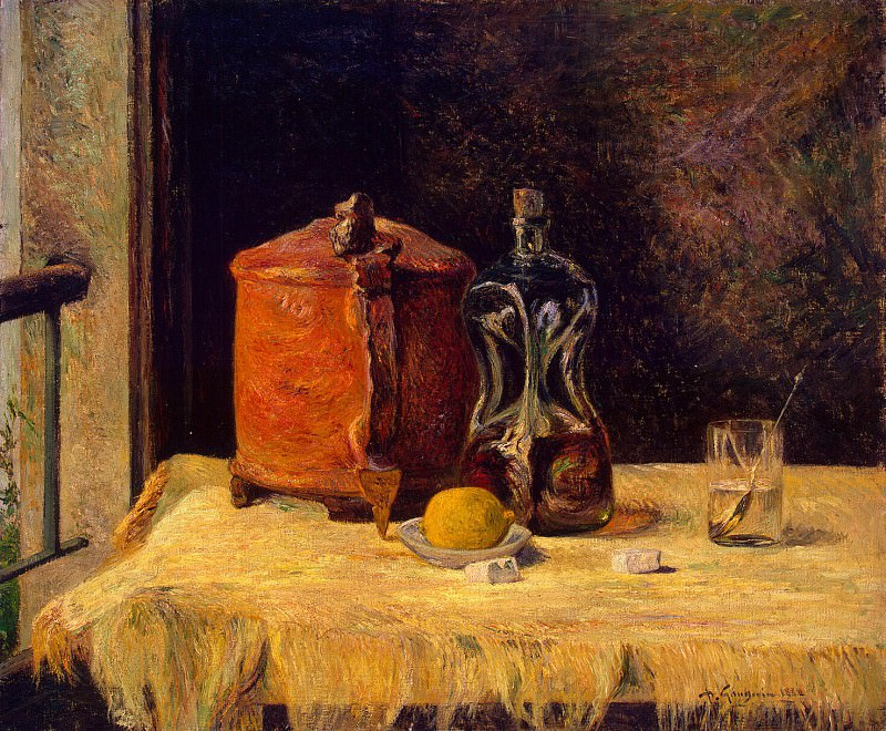 Gauguin, Paul - By the window. Hermitage ~ part 04