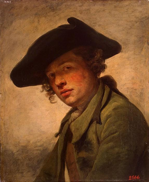 Грёз, Жан-Батист - Портрет молодого человека в шляпе. Эрмитаж ~ часть 4