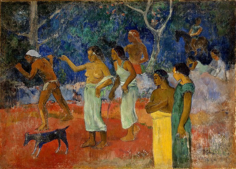 Gauguin, Paul - Scene from the life of Tahitians. Hermitage ~ part 04