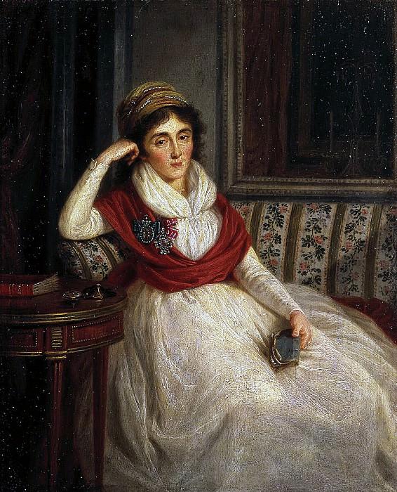 Guttenbrunn, Ludwig - Portrait of Princess EI Golenischeva-Kutuzova. Hermitage ~ part 04
