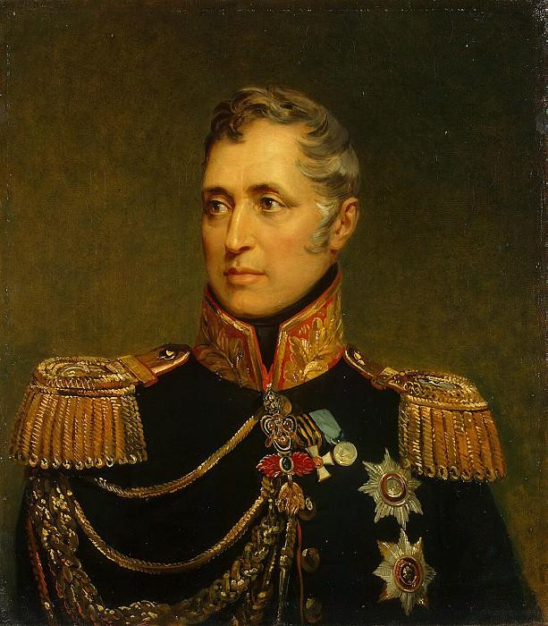Dow, George - Portrait of Charles Osipovitch Pozzo Di Borgo. Hermitage ~ part 04