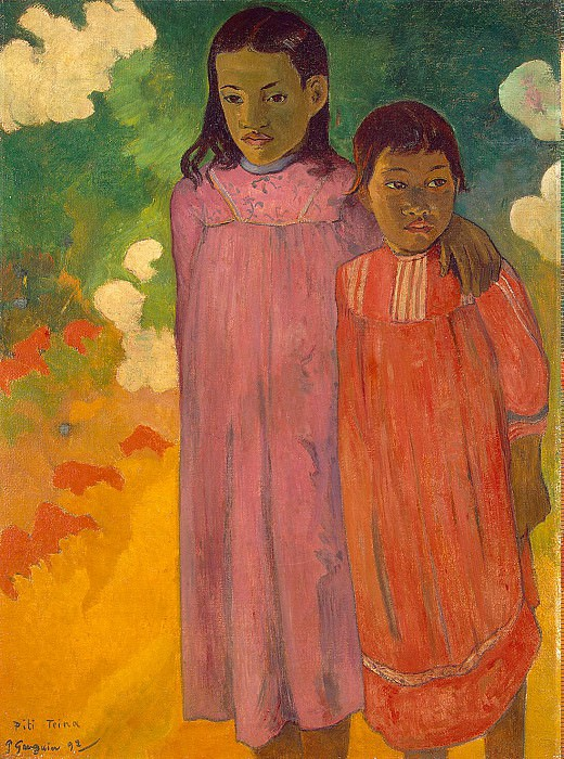 Gauguin Paul - Two Sisters. Hermitage ~ part 04