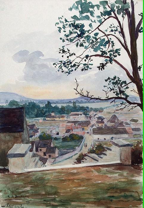 Dombasle, R. de - Sunset. Hermitage ~ part 04
