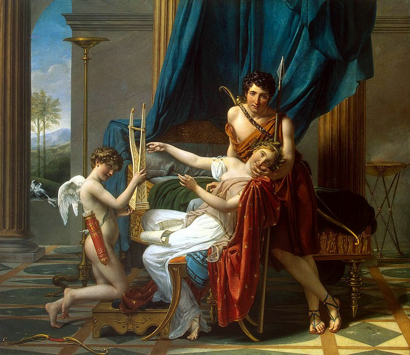 David, Jacques-Louis - Sappho and Phaon. Hermitage ~ part 04