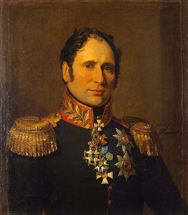 Dawe George - Portrait of Karl Ivanovich Opperman. Hermitage ~ part 04