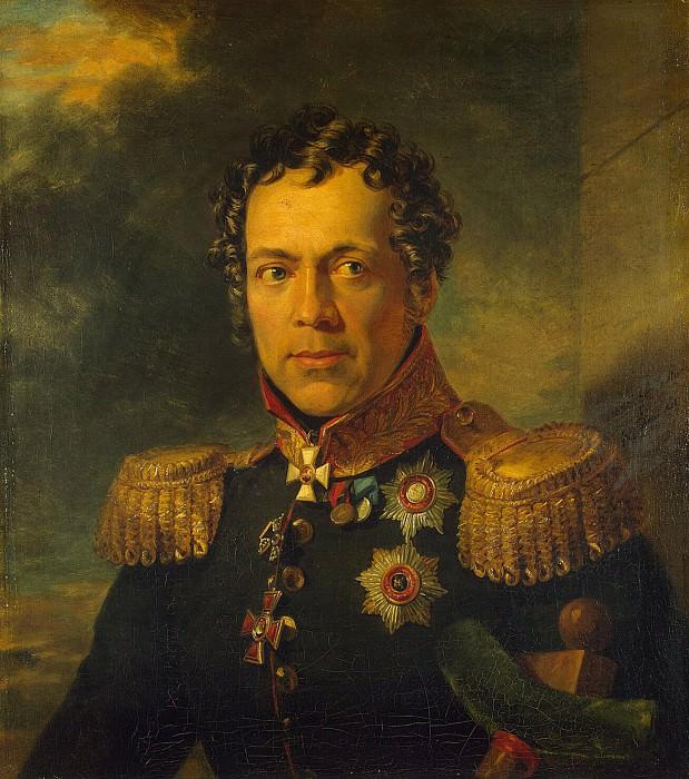 Dawe George - Portrait of Alexis Bakhmetev. Hermitage ~ part 04