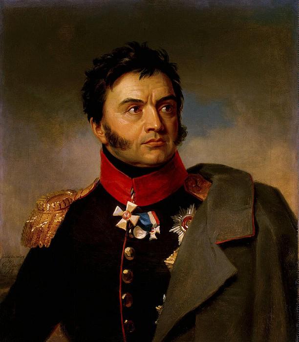 Dawe George - Portrait of Nikolai Nikolaevich Rajewski. Hermitage ~ part 04