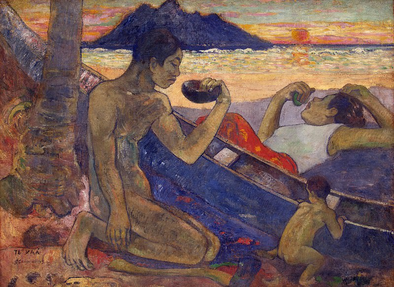 Gauguin, Paul - Cake. Hermitage ~ part 04