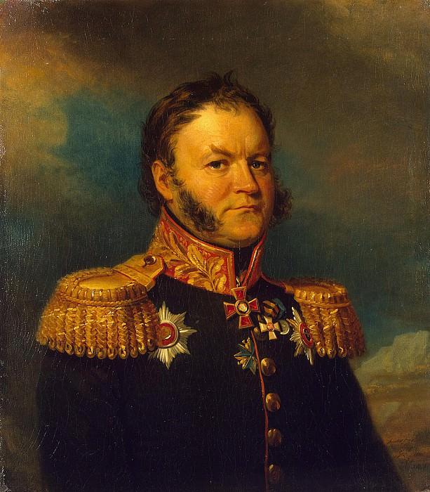 Dawe George - Portrait of Ivan Aleksandrovich Sonya. part 04 Hermitage