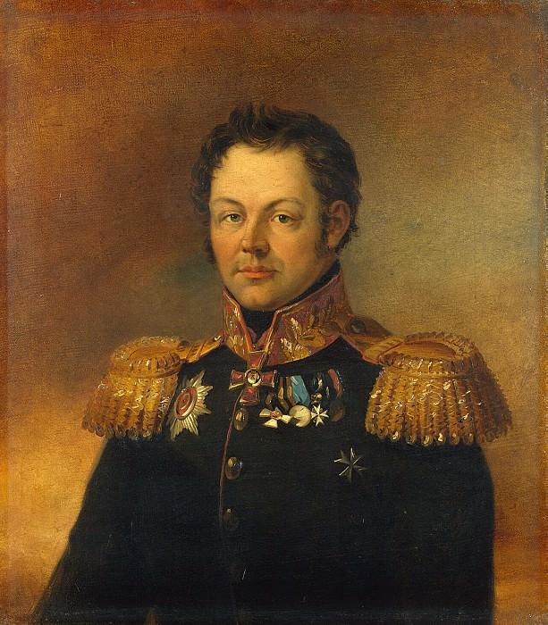 Dawe George - Portrait of Alexander Emmanuilovich Peykera. Hermitage ~ part 04