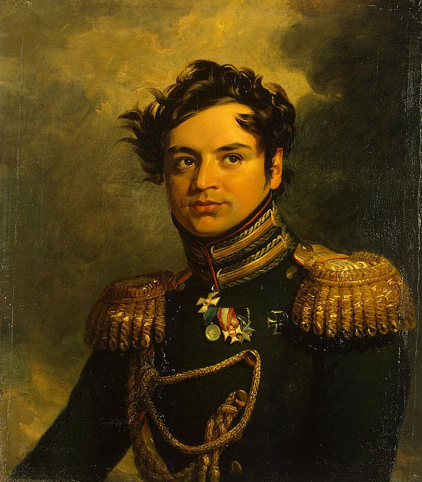 Dawe George - Portrait of Yakov Potemkin. Hermitage ~ part 04
