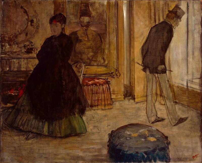 Degas, Edgar - Interior with Two Figures. Hermitage ~ part 04