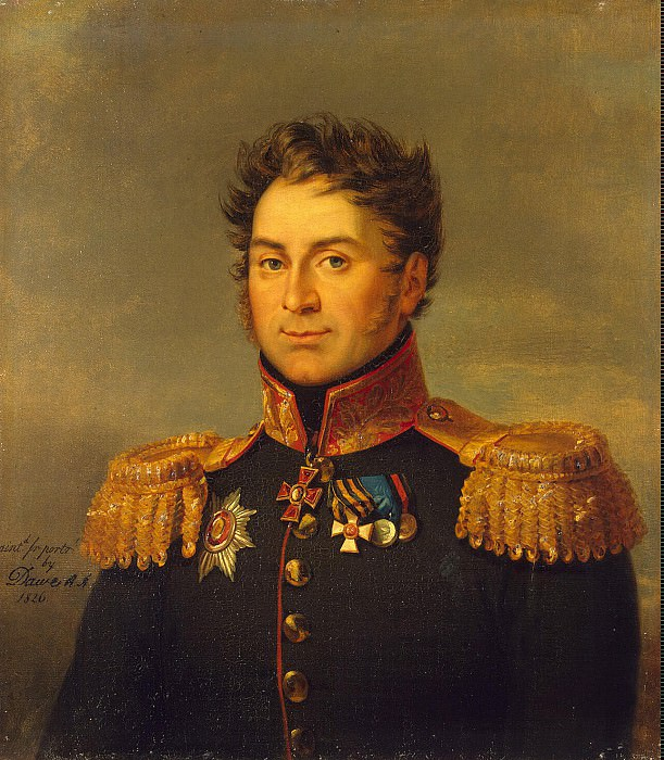 Dawe George - Portrait of Nikolai Dmitrievich Olsufev. Hermitage ~ part 04