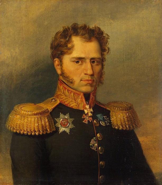 Dawe George - Portrait of Alexander Ivanovich Yushkova. Hermitage ~ part 04