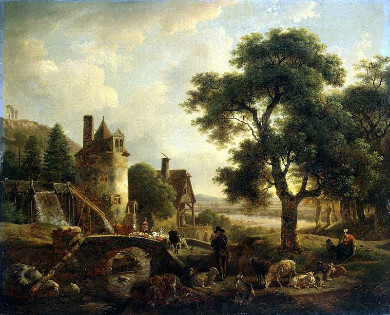 Demarn, Jean-Louis - The Water Mill. Hermitage ~ part 04