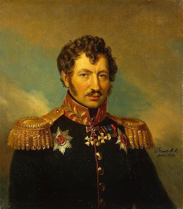 Dawe George - Portrait of Cyprian Antonovich Creutz. Hermitage ~ part 04