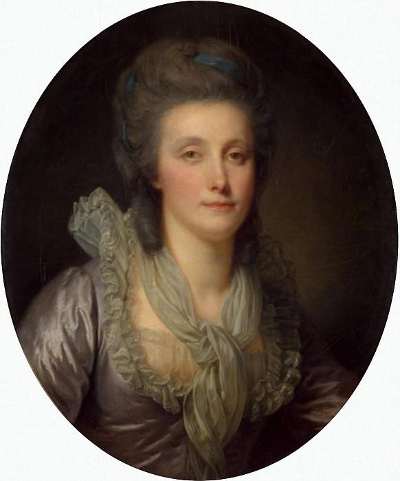 Greuze, Jean-Baptiste - Portrait of Countess EP Shuvalova. Hermitage ~ part 04