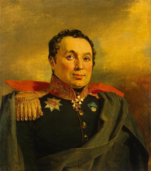 Dawe George - Portrait of Athanasius Ivanovich Krasovskii. Hermitage ~ part 04