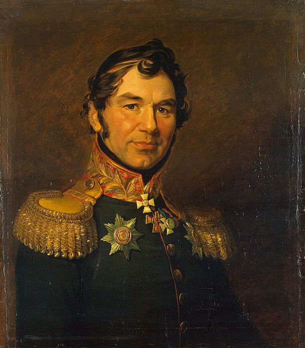 Dawe George - Portrait of Maxim Stavisky Fedorovich. Hermitage ~ part 04