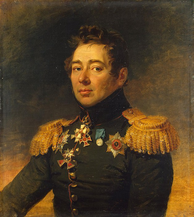 Dawe George - Portrait of Alexey P. Nikitin. Hermitage ~ part 04