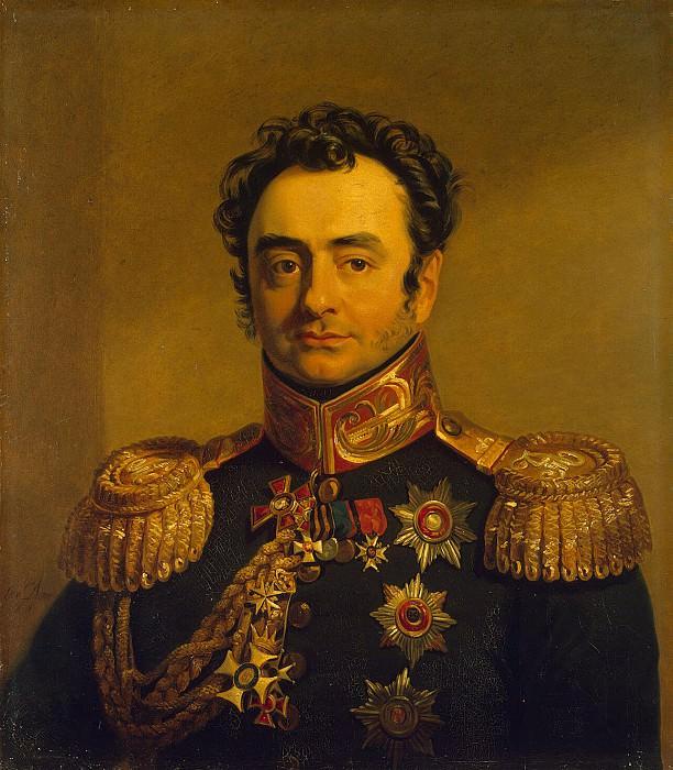 Dawe George - Portrait of Pavel A. Shuvalov. Hermitage ~ part 04