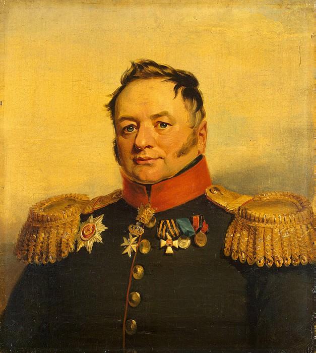 Dawe George - Portrait of Pavel Alekseevich Tuchkova. Hermitage ~ part 04