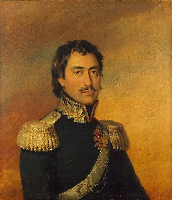 Dawe George - Portrait of Ilya Fyodorovich Chernozubova. Hermitage ~ part 04