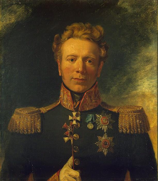 Dawe George - Portrait of Ivan A. Lieven. Hermitage ~ part 04