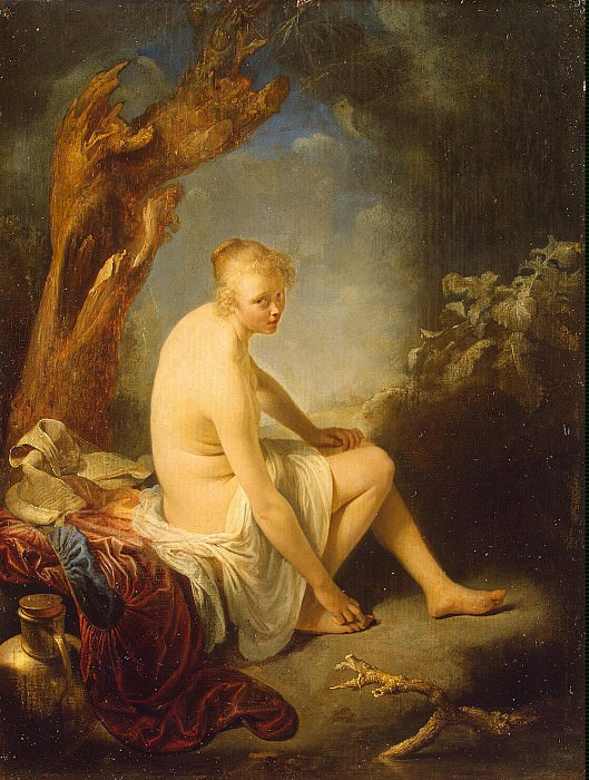 Dow, Gerard - Bather. Hermitage ~ part 04